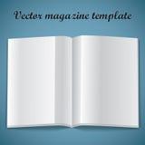 Molde da página em branco do compartimento. Ilustração do vetor. Imagem de Stock Royalty Free