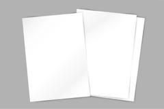Molde da placa do folheto do vetor Inseto abstrato Fotos de Stock Royalty Free