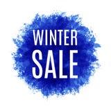 Molde da venda do inverno ou do Natal Ilustração Stock