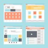 Molde da Web Imagens de Stock