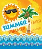 Molde das férias de verão ilustração royalty free