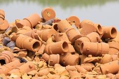 Molde de carcaça abandonado do cobre e do ferro Imagem de Stock