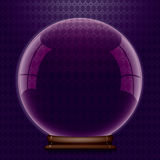 Molde de cristal do globo. Fotografia de Stock