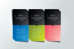 molde de 3 etapas, bandeira, infographic, diagrama, carta, coluna Fotos de Stock