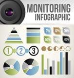 Molde de Infographic ilustração stock
