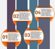 Molde de Infographic Imagens de Stock
