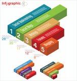 Molde de Infographic Imagens de Stock Royalty Free