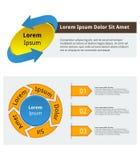 Molde de Infographic Foto de Stock