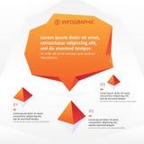 Molde de Infographics Imagens de Stock