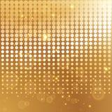 Molde de intervalo mínimo do fundo do ouro Fotos de Stock