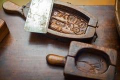Molde de la mantequilla Fotos de archivo libres de regalías