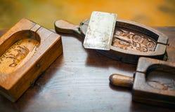 Molde de la mantequilla Imagen de archivo