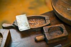 Molde de la mantequilla Imagen de archivo libre de regalías