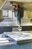Molde de metal/perfuração industriais velocidade da placa Engenharia do metal, C Imagem de Stock