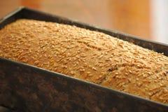 Molde de pão caseiro imagem de stock