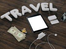 Molde de viagem do negócio do modelo Imagens de Stock