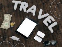 Molde de viagem do negócio do modelo Fotografia de Stock Royalty Free