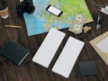Molde de viagem do negócio do modelo Fotos de Stock