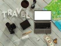 Molde de viagem do negócio do modelo Foto de Stock