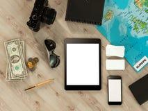 Molde de viagem do negócio do modelo Imagem de Stock Royalty Free