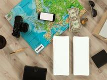 Molde de viagem do negócio do modelo Fotografia de Stock