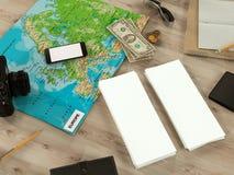 Molde de viagem do negócio do modelo Imagens de Stock Royalty Free