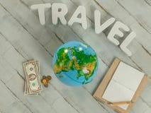 Molde de viagem do negócio do modelo Fotos de Stock Royalty Free