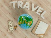 Molde de viagem do negócio do modelo Foto de Stock Royalty Free