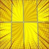 Molde dinâmico da banda desenhada Imagem de Stock