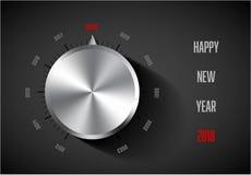 Molde do cartão do ano novo 2018 Fotos de Stock