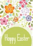 Molde do cartão de Easter Imagem de Stock