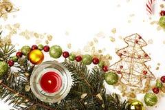 Molde do cartão de Natal Foto de Stock