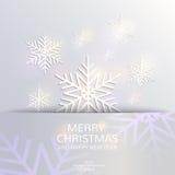 Molde do cartão do Natal e do ano novo Imagens de Stock