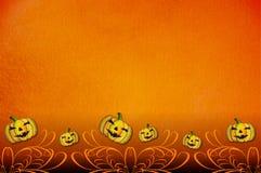 Molde do convite do partido de Halloween Fotografia de Stock
