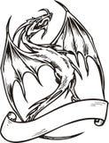 Molde do dragão. Imagens de Stock Royalty Free