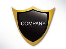 Molde do emblema Foto de Stock Royalty Free