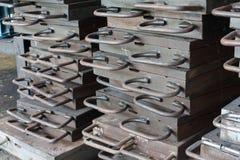 Molde do ferro imagem de stock