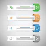 Molde do gráfico da informação Foto de Stock