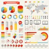 Molde do infographics do vetor Imagem de Stock