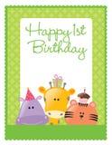 molde do insecto/poster do aniversário ilustração royalty free
