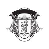Molde do logotipo do detalhe do protetor Fotos de Stock