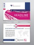 Molde do negócio Ícones da logística e mapa do mundo Cores azuis, cinzentas, cor-de-rosa usadas no fundo branco Imagem realística Fotografia de Stock