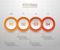 Molde do negócio do vetor para a apresentação ilustração stock
