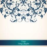Molde do ornamental do vintage Imagens de Stock Royalty Free