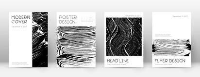Molde do projeto da capa ilustração do vetor