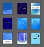 Molde do projeto da capa do livro do negócio ilustração stock