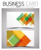 Molde do projeto de cartão do vetor CMYK Imagem de Stock Royalty Free