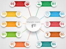 Molde do projeto de Infographic Imagens de Stock Royalty Free