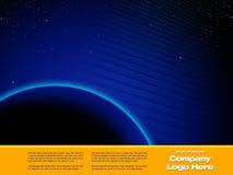 Molde do projeto gráfico do espaço Foto de Stock Royalty Free