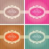 Molde do quadro do fundo do vintage Foto de Stock Royalty Free